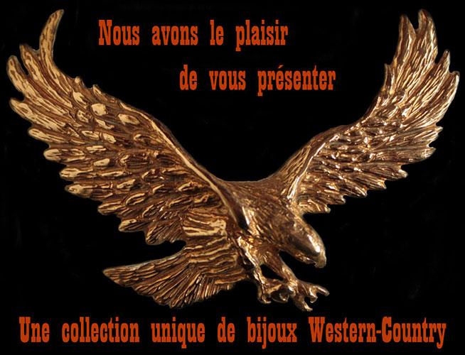 Bijoux Western Argent : Bijoux western