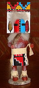 Poupée Amérindienne fétiche Kachina représente un Dancer Papillon