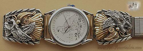 Populaire Montres amérindiennes Navajo et montres Western FY92